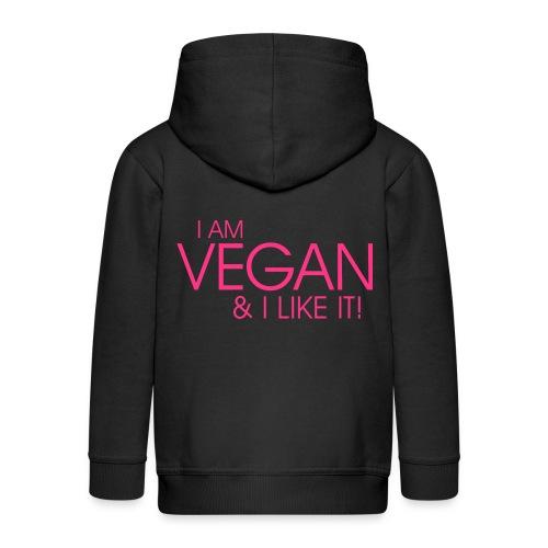 I am vegan and I like it - Kinder Premium Kapuzenjacke