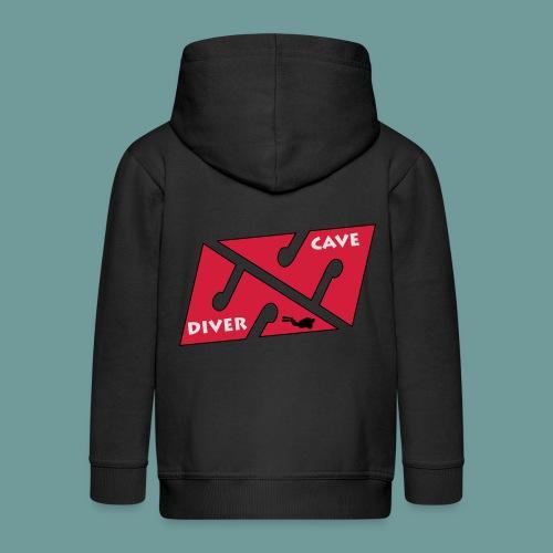 cave_diver_01 - Veste à capuche Premium Enfant