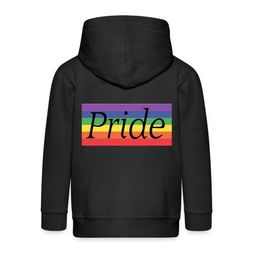 Pride | Regenbogen | LGBT - Kinder Premium Kapuzenjacke