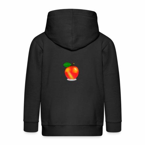 Apfel - Kinder Premium Kapuzenjacke