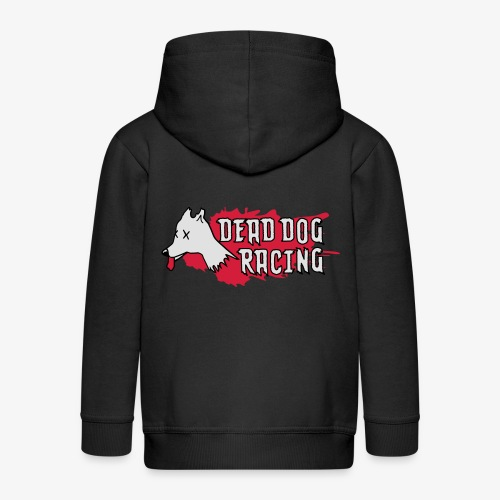 Dead dog racing logo - Kids' Premium Zip Hoodie