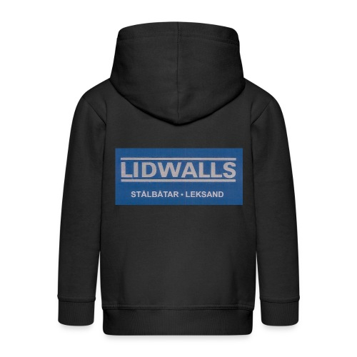 Lidwalls Stålbåtar - Premium-Luvjacka barn