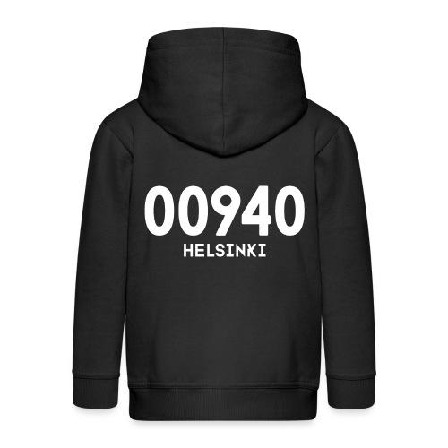 00940 HELSINKI - Lasten premium hupparitakki