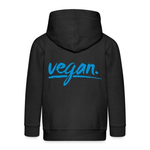 vegan - simply vegan ! - Kinder Premium Kapuzenjacke