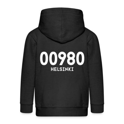 00980 HELSINKI - Lasten premium hupparitakki