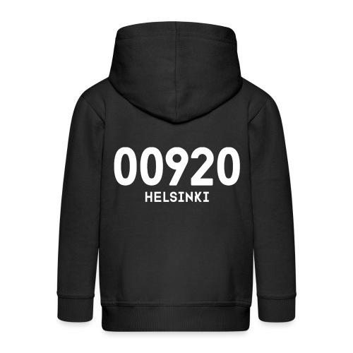 00920 HELSINKI - Lasten premium hupparitakki
