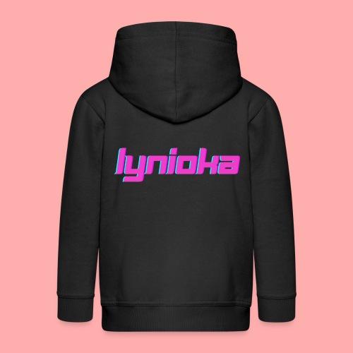 Lynioka Logo 2 - Veste à capuche Premium Enfant