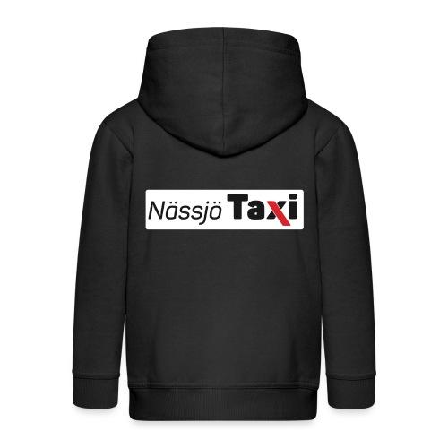 Nässjö taxi tryck - Premium-Luvjacka barn