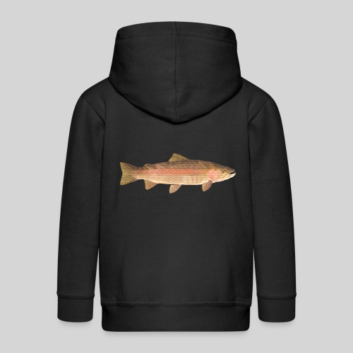 low-polygon-trout art.png - Lasten premium hupparitakki