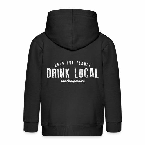 Drink Local - Kids' Premium Hooded Jacket