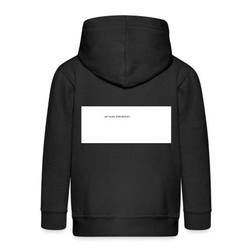 eat sleep sing - Kids' Premium Hooded Jacket