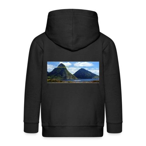 believe in yourself - Kids' Premium Hooded Jacket