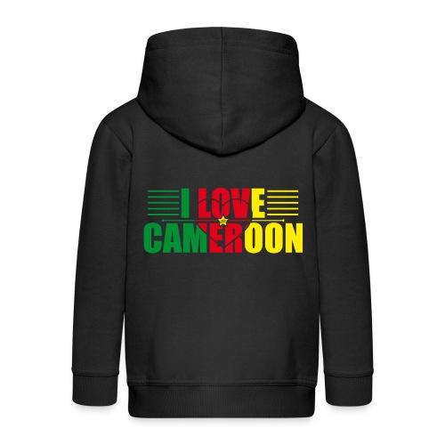 love cameroun - Veste à capuche Premium Enfant