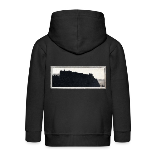 back page image - Kids' Premium Hooded Jacket