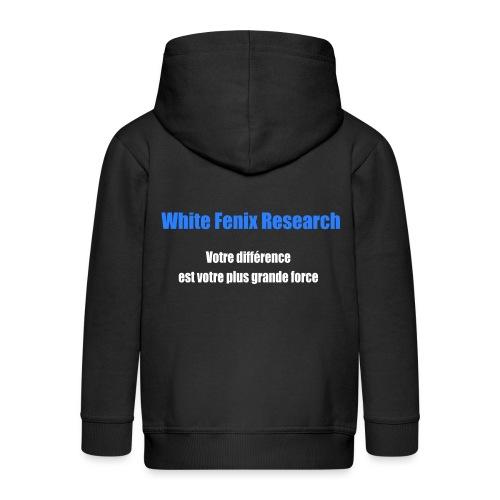 WFR Votre différence est votre plus grande force - Veste à capuche Premium Enfant