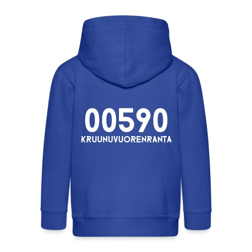 00590 KRUUNUVUORENRANTA - Lasten premium hupparitakki