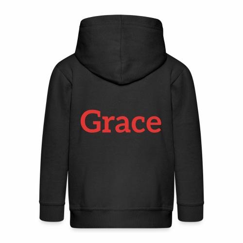 grace - Kids' Premium Hooded Jacket