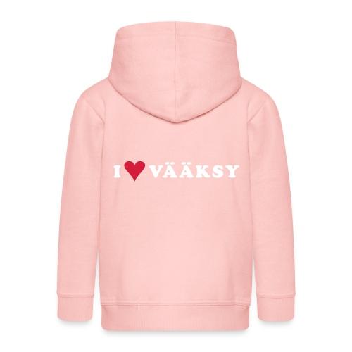 I LOVE VAAKSY - Lasten premium hupparitakki