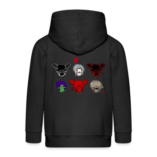 Sheepers Creepers - Kids' Premium Zip Hoodie