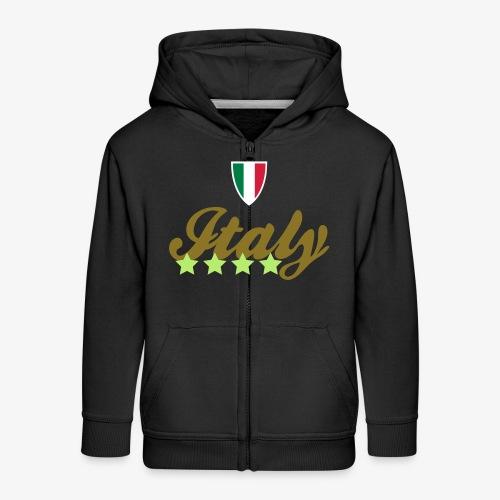 Gruppo di stelle Italia - Felpa con zip Premium per bambini