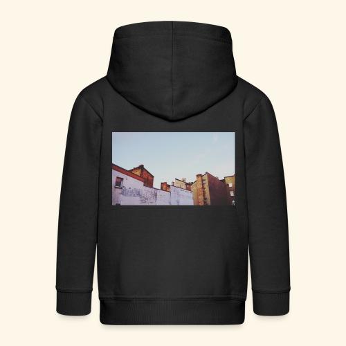 Sunset - Rozpinana bluza dziecięca z kapturem Premium