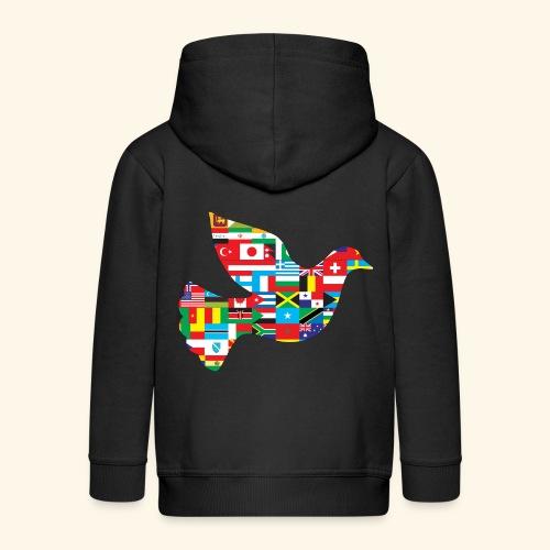 countrys t-shirt - Chaqueta con capucha premium niño