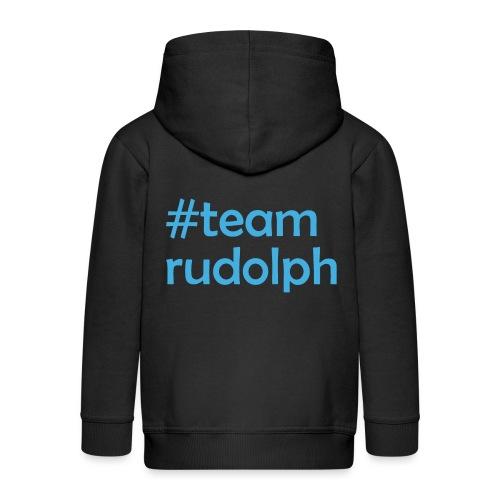 # team rudolph - Christmas & Weihnachts Design - Kinder Premium Kapuzenjacke