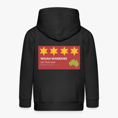 NSW AUS 2018 - Kids' Premium Zip Hoodie