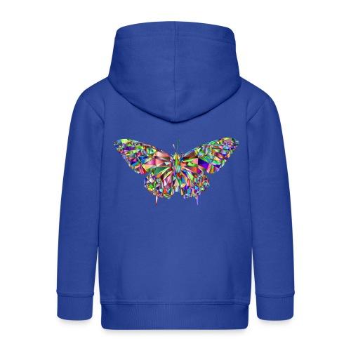Geflogener Schmetterling - Kinder Premium Kapuzenjacke