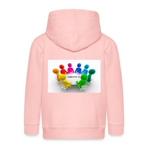 comitato 1c - Felpa con zip Premium per bambini