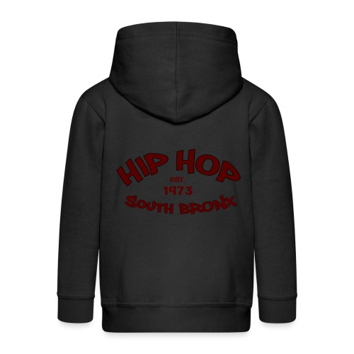 Hip Hop/Est.1973/South Bronx - Kids' Premium Zip Hoodie