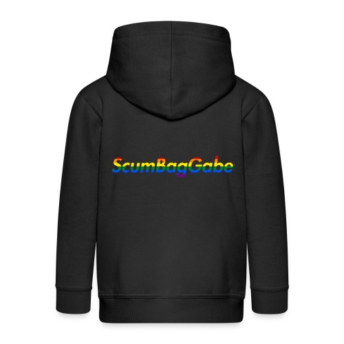ScumBagGabe Multi Logo XL - Kids' Premium Zip Hoodie