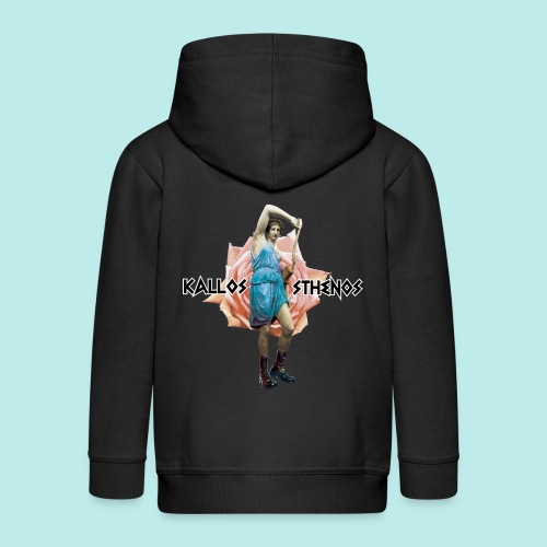 Warriorgirls - Chaqueta con capucha premium niño