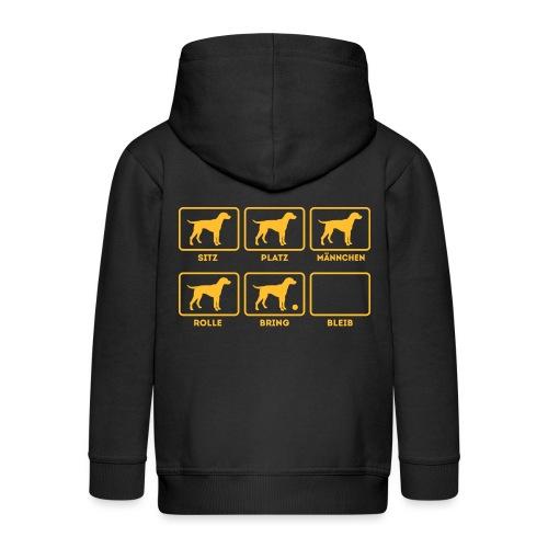Für alle Hundebesitzer mit Humor - Kinder Premium Kapuzenjacke