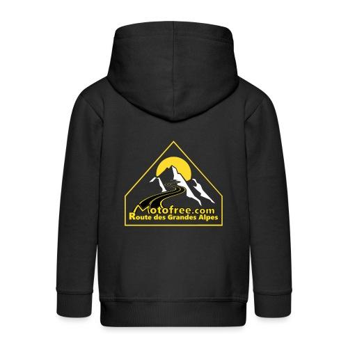 Logo motofree - Veste à capuche Premium Enfant