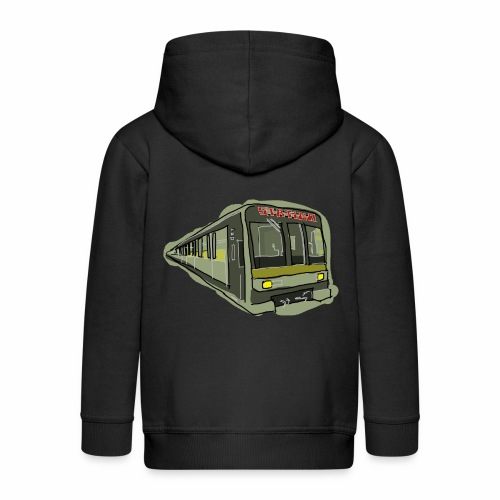 Urban convoy - Felpa con zip Premium per bambini