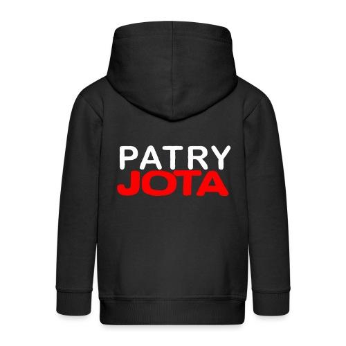 Patryjota - Rozpinana bluza dziecięca z kapturem Premium