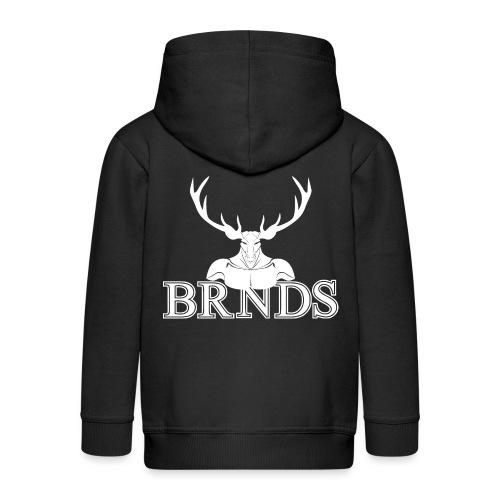 BRNDS - Felpa con zip Premium per bambini