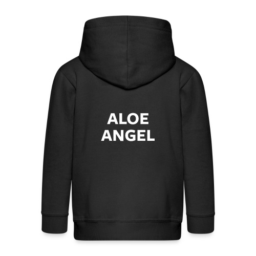 Aloe Angel Night Mode - Kids' Premium Zip Hoodie