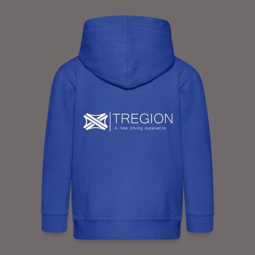 Tregion Logo wide - Kids' Premium Zip Hoodie
