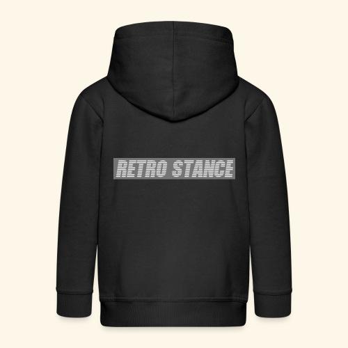 Retro Stance - Kids' Premium Zip Hoodie