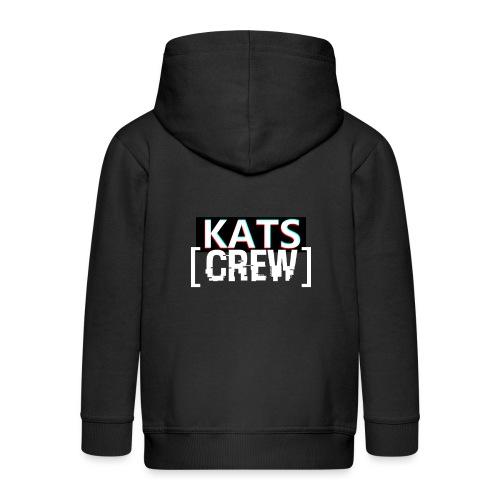 KATS CREW Logo - Rozpinana bluza dziecięca z kapturem Premium
