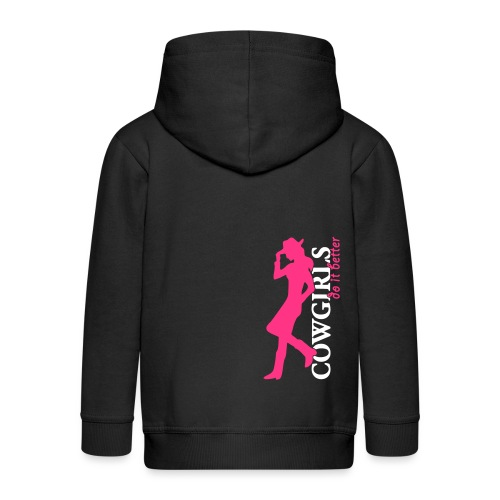 Cowgirls do it better - Kinder Premium Kapuzenjacke