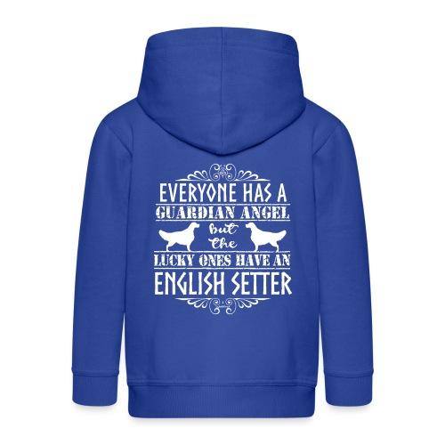English Setter Angels - Lasten premium hupparitakki
