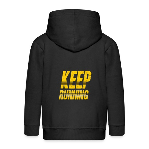 Keep running - Kinder Premium Kapuzenjacke