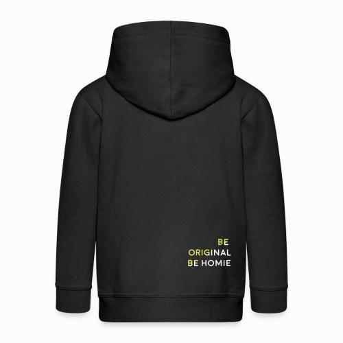 III - Chaqueta con capucha premium niño