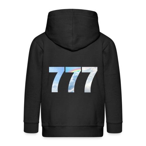 777 un nombre de chance et spirituel. - Veste à capuche Premium Enfant