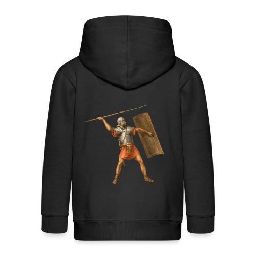 Legionista | Legionary - Rozpinana bluza dziecięca z kapturem Premium