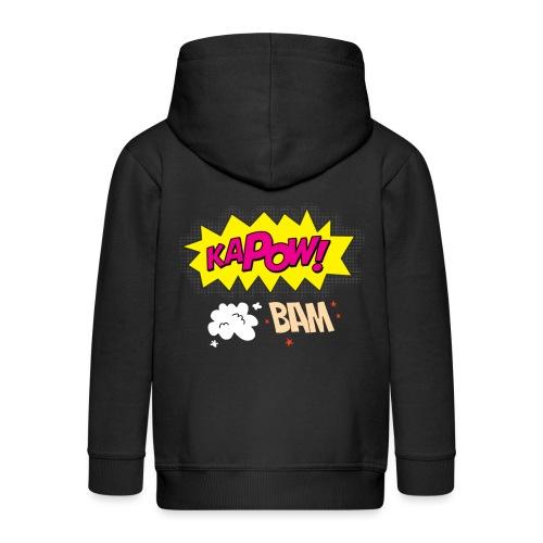 kaboum bam - Veste à capuche Premium Enfant