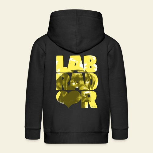 NASSU Labrador Brown I - Lasten premium hupparitakki
